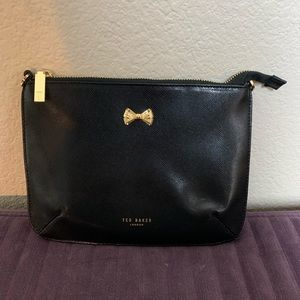 Ted Baker black zippered purse